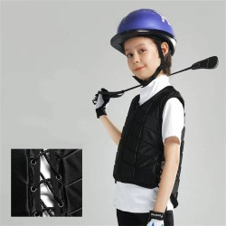 Kids Equestrian Vest Outdoor Safety Protective Horse Riding Vest Boy And Girl Children's Equestrian Protective Equipment  - 1