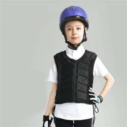 Kids Equestrian Vest Outdoor Safety Protective Horse Riding Vest Boy And Girl Children's Equestrian Protective Equipment  - 3