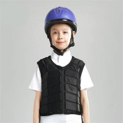 Kids Equestrian Vest Outdoor Safety Protective Horse Riding Vest Boy And Girl Children's Equestrian Protective Equipment  - 4