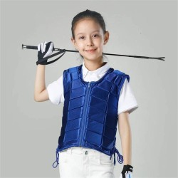 Kids Equestrian Vest Outdoor Safety Protective Horse Riding Vest Boy And Girl Children's Equestrian Protective Equipment  - 2