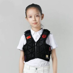 6 Flex Kids Equestrian Protective Vest High-thickness Shock-absorbing Layer Safety Guarantee Children's Protective Equipment