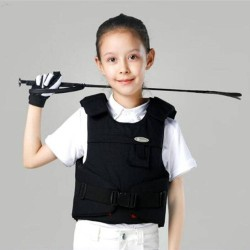 Kids Protective Vest Equestrian Equipment Horse Riding Vest Boy And Girl Children's Equestrian Protective Equipment  - 1