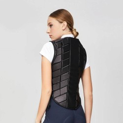 Horse Riding Vest, Equestrian Safety Ves , Horse Riding Training Waistcoat Body Safety EVA Equestrian Vest for Unisex Adults  -