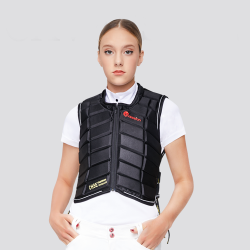 Equestrian Vest Outdoor Safety Protective Horse Riding Vest for Unisex Adults Equestrian Protective Equipment  - 2