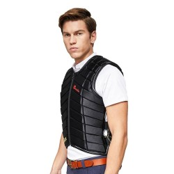 Equestrian Vest Outdoor Safety Protective Horse Riding Vest for Unisex Adults Equestrian Protective Equipment  - 5