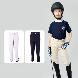 Kids Breeches for Boys and Grils, Children Riding Pants, Kids Horse Riding Pants, Stretchy, Soft And Breathable Riding Equipment
