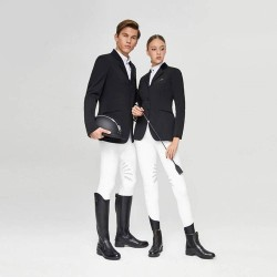 Equestrian Breeches, Butterfly Wing Design Semi Silicone Horse Riding Pants, Professional English Breeches  - 1