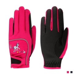 Horse Riding Gloves for Children, Kids Professional Equestrian Riding Gloves for Boys and Girls