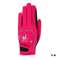 Horse Riding Gloves for Children, Kids Professional Equestrian Riding Gloves for Boys and Girls  - 1