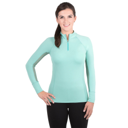 Horse Riding Tops, Equestrian Stretch T-Shirt for Women Horse Riding Competition T-shirt  - 1