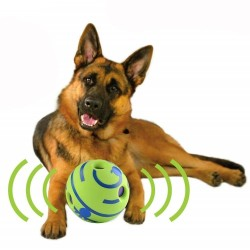 Dog Toy Fun Wobble Wag Giggle Ball Pet Cat Dog Toys Silicon Jumping Interactive Chew Toy Training Ball For Small Large Dogs  - 1