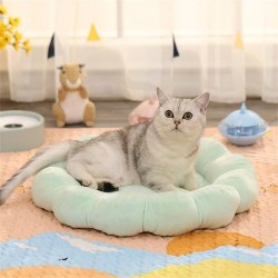 Cat Mat Bed Small Dog Bed Flower Shaped Pet Pillow Mattress Cat Sleeping Beds Puppy Cushion
