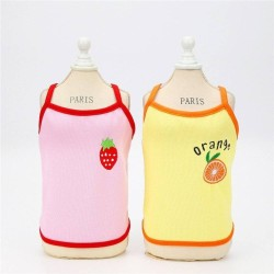 Dog Clothes Vest Strawberry Pet Clothing Zara - 1