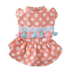 Dog Dress Clothing Costume Princess Spring Summer Clothing Cat Dresses