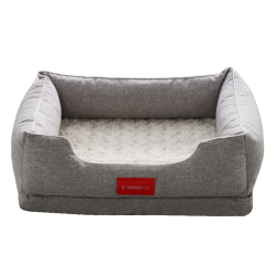 Luxury Canvas Dog Bed Sofa House For Big Dog Puppy Pet Cat  - 1