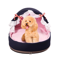 Lace Princess Dog Kennel Girl Dog Bed Dog House Cat Bed