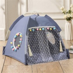 Dog Bed Cat Bed House Cat Tent Kennel Pet Beds Cat Hammock Foldable Summer