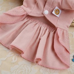 Dog Dress Pet Clothes Princess Wedding Puppy for Dogs Skirt Summer Dog Dresses