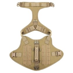 Tactical Dog Harness Pet Military Training Dog Vest German Shepherd Dog Harness  - 4