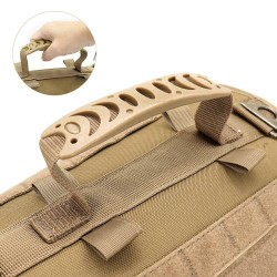 Tactical Dog Harness Pet Military Training Dog Vest German Shepherd Dog Harness  - 5