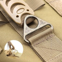 Tactical Dog Harness Pet Military Training Dog Vest German Shepherd Dog Harness  - 12