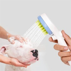 Pet Bath Shower Tool for Dog Cat Brush Cleaning Wash Bath Sprayer Massager Shampoo Grooming Tool
