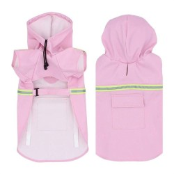 Pet Dog Raincoats Reflective Small Large Dogs Rain Coat Waterproof Jacket Clothes for Puppy French Bulldog