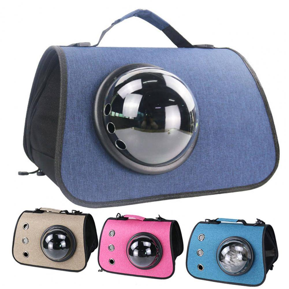 Pet Carrier Bag Astronaut Space Capsule Backpack for Cats Small Dogs Portable Doggie Kitten Cat Outdoor Travel Bag