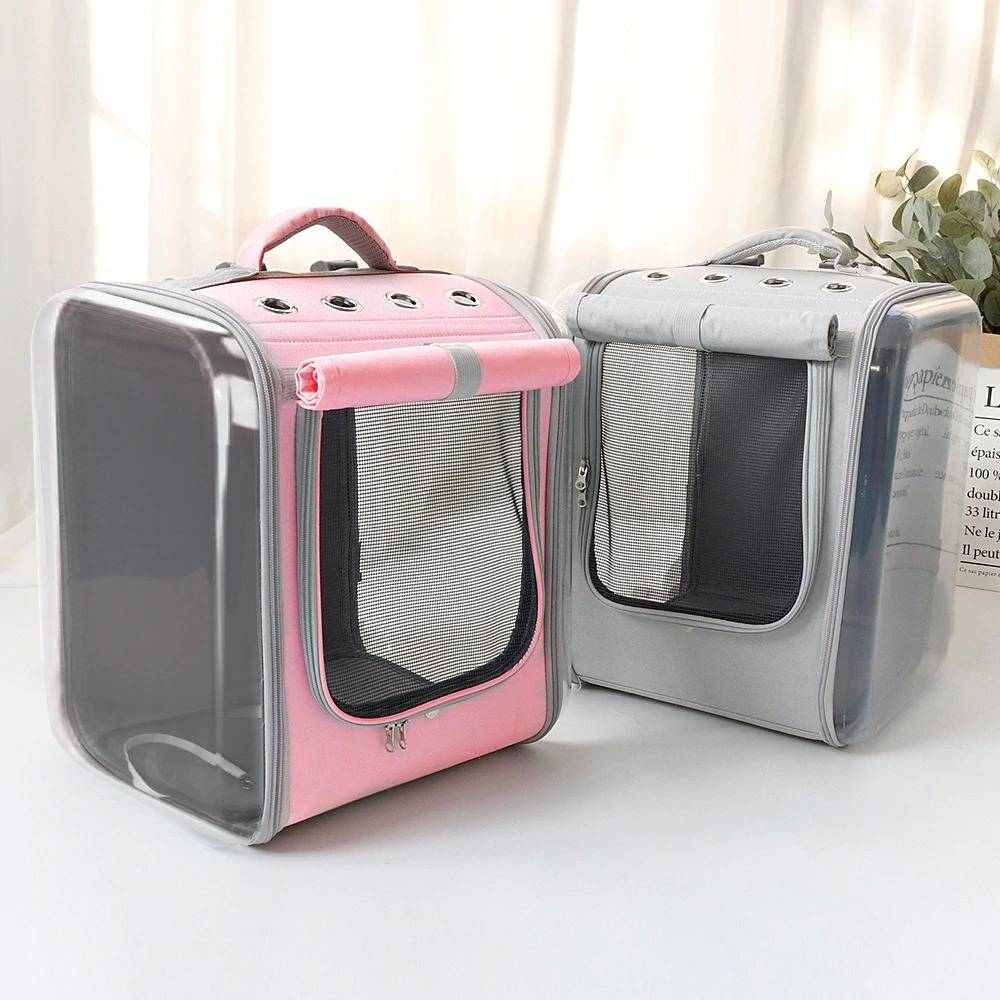 Pet Carrier Backpack Breathable Outdoor Travel Pet Portable Carrying Bag