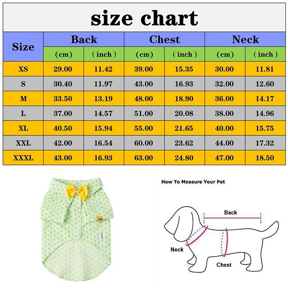 Pet Summer Shirt Beach Plaid Blouse for Dogs Cats French Bulldog