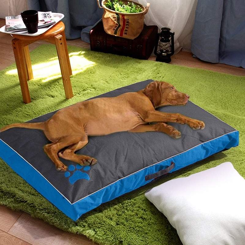 Pet Mat Paw Design Dog Bed Waterproof Dog Cat Cushion Kennel Pet Cozy Sofa Bed for Labrador French Bulldog