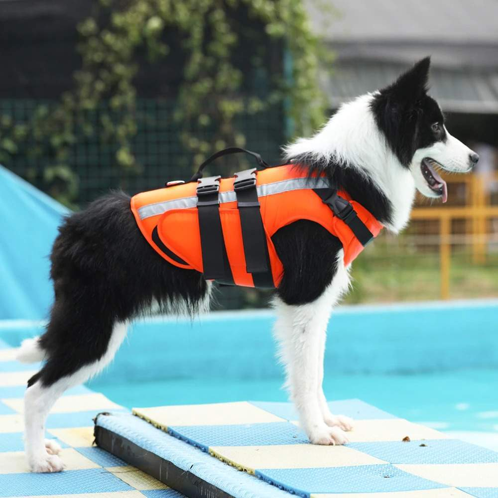 Pet Dog Life Jacket Safety Clothes Life Vest Swimming Clothes  Swimwear For Small Big Dog Husky French Bulldog