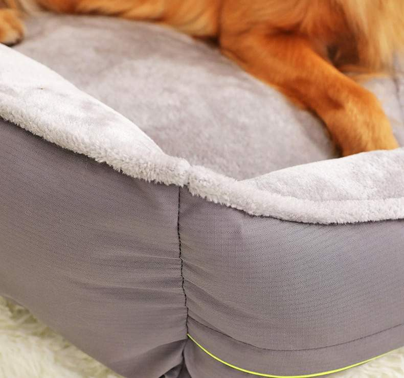 Pet Sofa Dog Bed Soft Fleece Winter Thicken Warm Bed Sleeping Cat Bed for Small Medium Large Dog