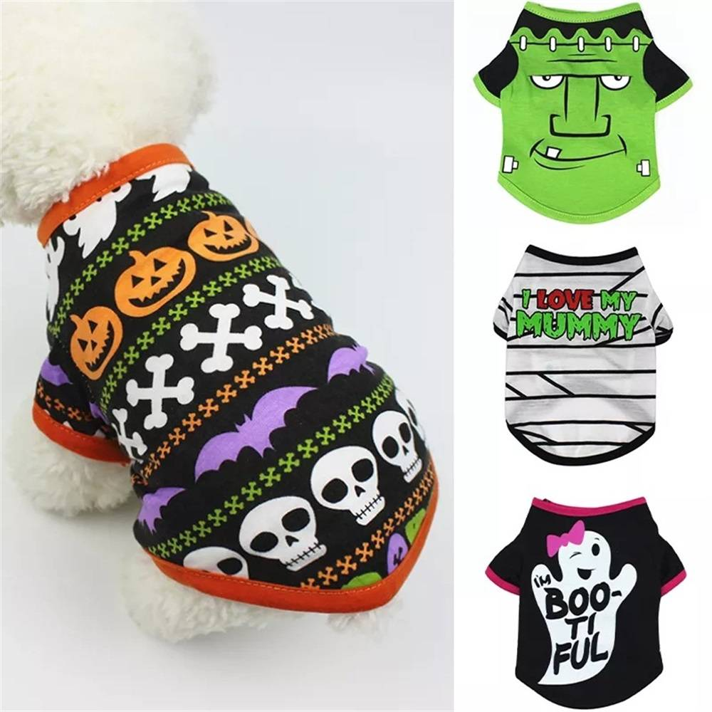 Halloween Pet Cute Clothes for Dogs Cats