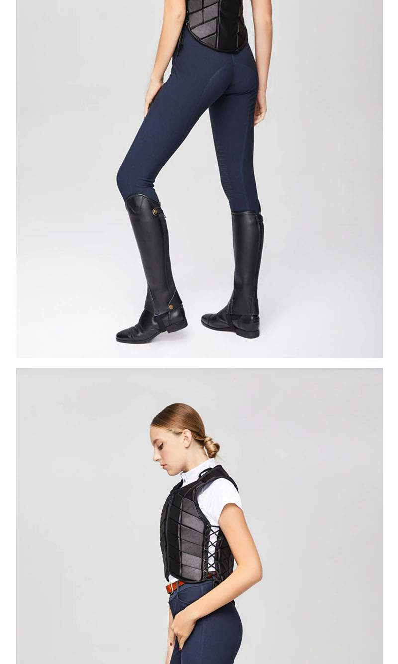 Horse Riding Vest, Equestrian Safety Vest, Horse Riding Training Waistcoat Body Safety EVA Equestrian Vest for Unisex Adults