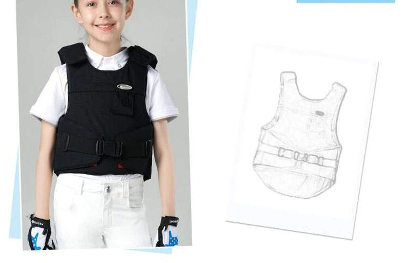 Kids Protective Vest Equestrian Equipment Horse Riding Vest Boy And Girl Children's Equestrian Protective Equipment