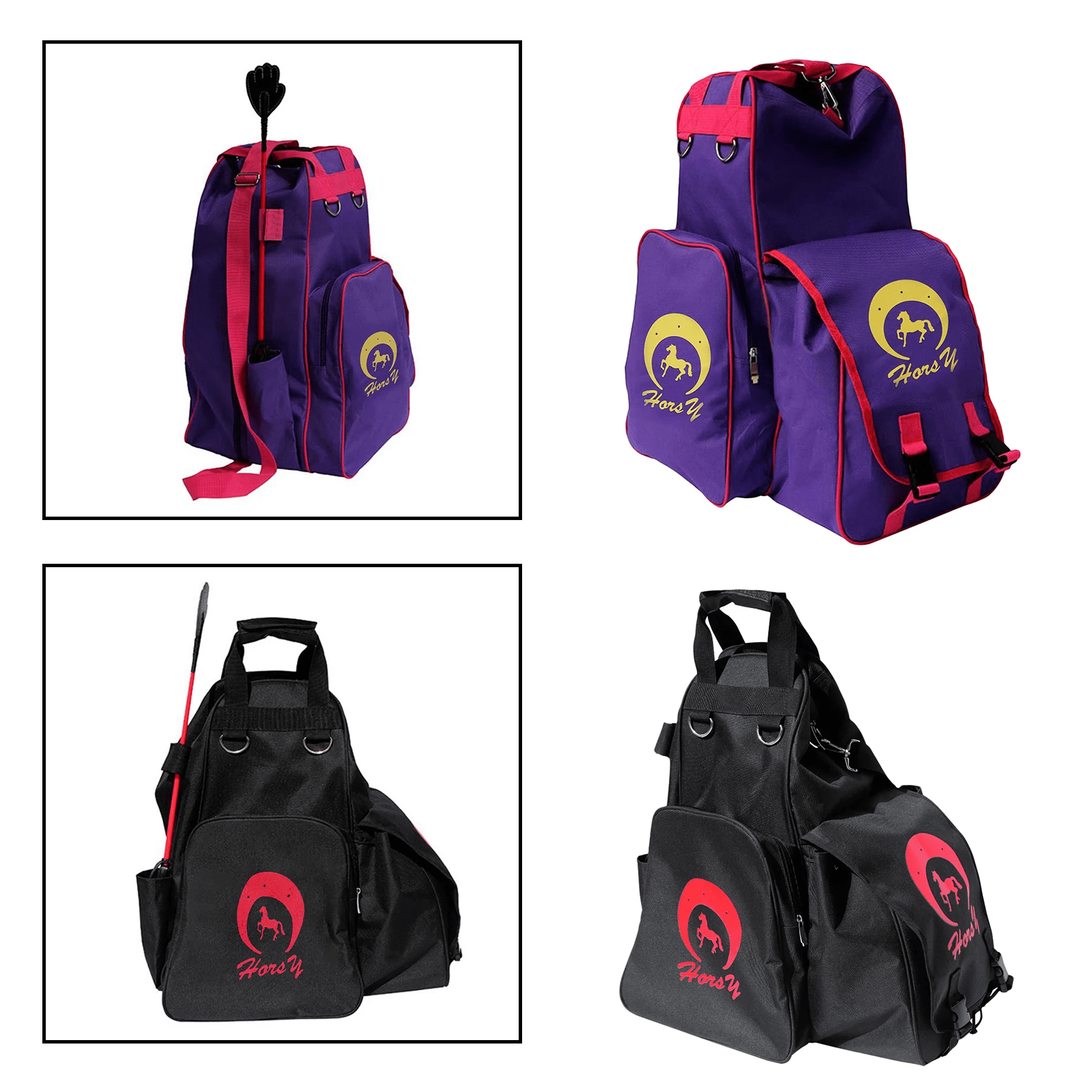 Equestrian Bag, Professional Outdoor Sports Equestrian Bags, Horse Riding Outfit Helmet Boots Storage Bags