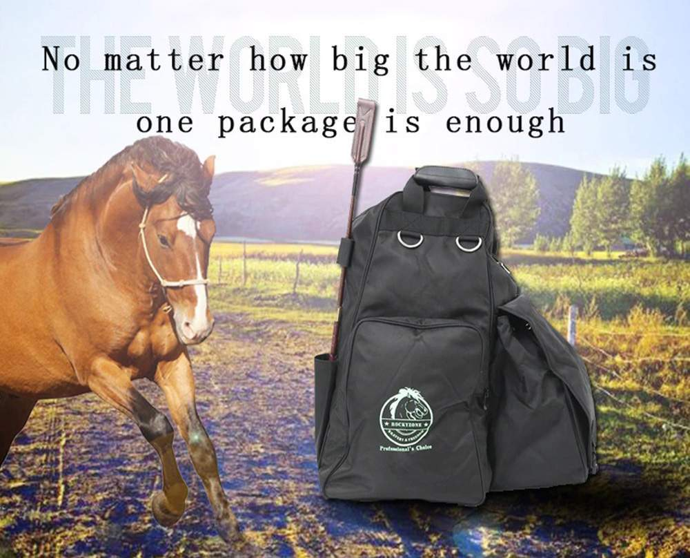 Equestrian Package Multifunctional Horse Riding Bags Boots Helmet Hat Bag