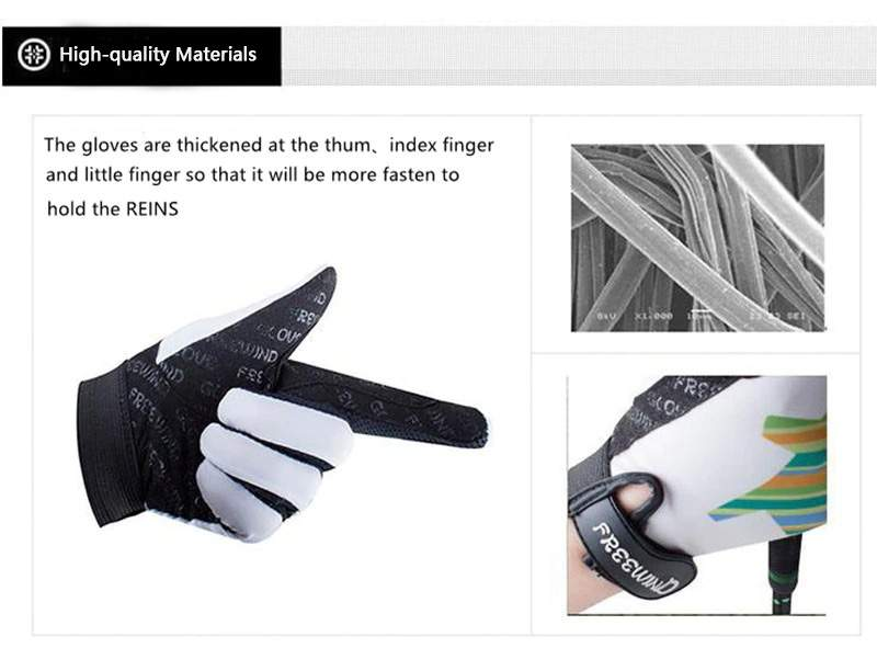 Kids Horse Riding Gloves Professional Equestrian Riding Gloves Non-slip Protective Gloves for Horse Riding Cycling Motorcycle