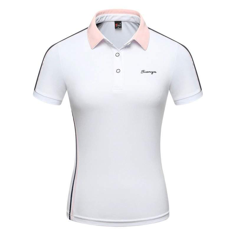 Women's Horse Riding T-shirt Sports Equestrian Short Sleeve Polo Shirt English Style Slim Fit Sports Outdoor Ladies Tops Plus Si