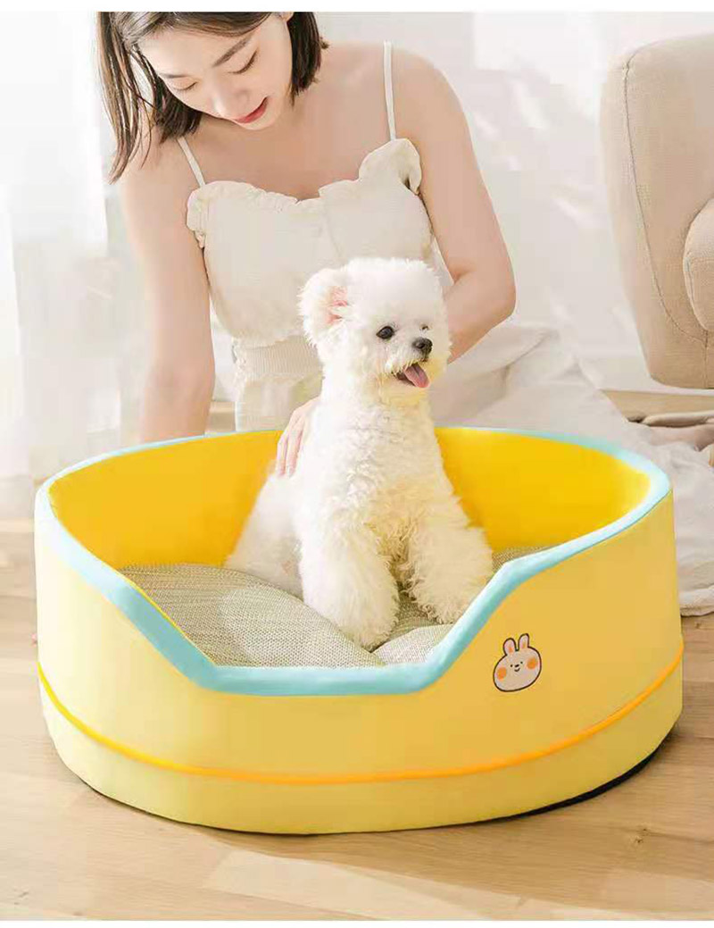 Pet Bed for Dog Cat Bed All Seasons Pet Sofa House Kennel