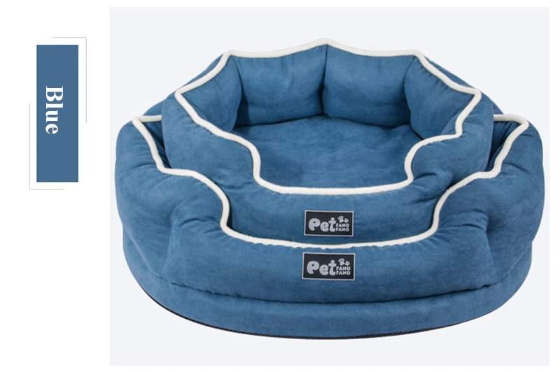 Pet Dog Bed For Small Large Dogs, Memory Foam Dog House Soft Detachable Pet Bed Sofa