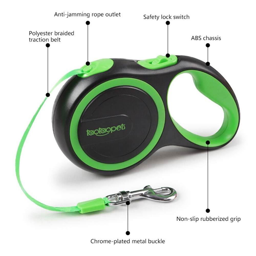 Pet No-Tangle Retractable Collars Dog Harnesses for Dog Cat, Extendable Leads Dog Harness