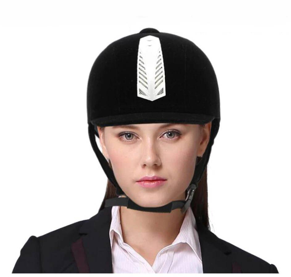 Horse Riding Equestrian Helmet Breathable Durable Safety Half Cover Horse Rider Helmets for Men, Women, and Children